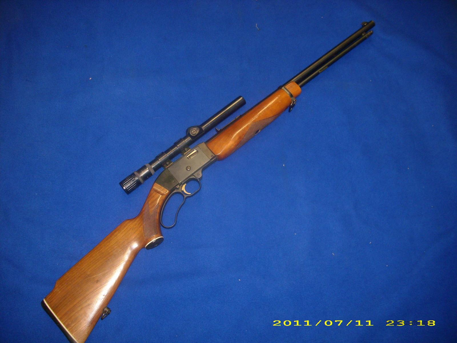 Mossberg 402 22 LR Lever Action  Guns > Rifles > Mossberg Rifles > Lever Action