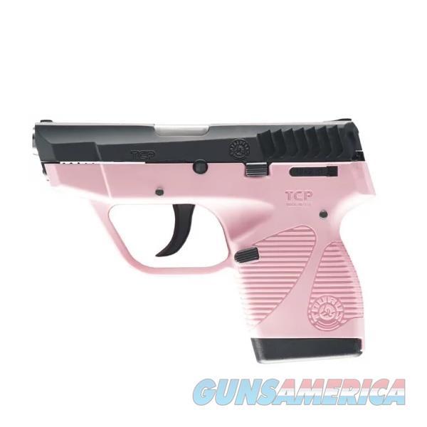 "Taurus TCP Pink Frame 2.84"" .380 ACP 1-738039BSSP  Guns > Pistols > Taurus Pistols > Semi Auto Pistols > Polymer Frame"