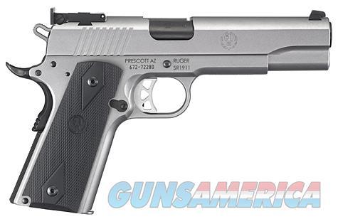 "Ruger SR1911 Target 10mm Auto 5"" SS 8 Rds 6739   Guns > Pistols > Ruger Semi-Auto Pistols > 1911"