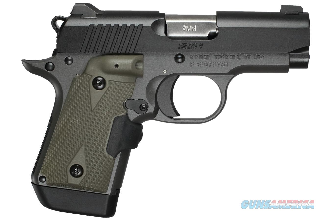 "Kimber Micro 9 Woodland Night (LG) 9mm 3.15""  3300178   Guns > Pistols > Kimber of America Pistols > Micro 9"