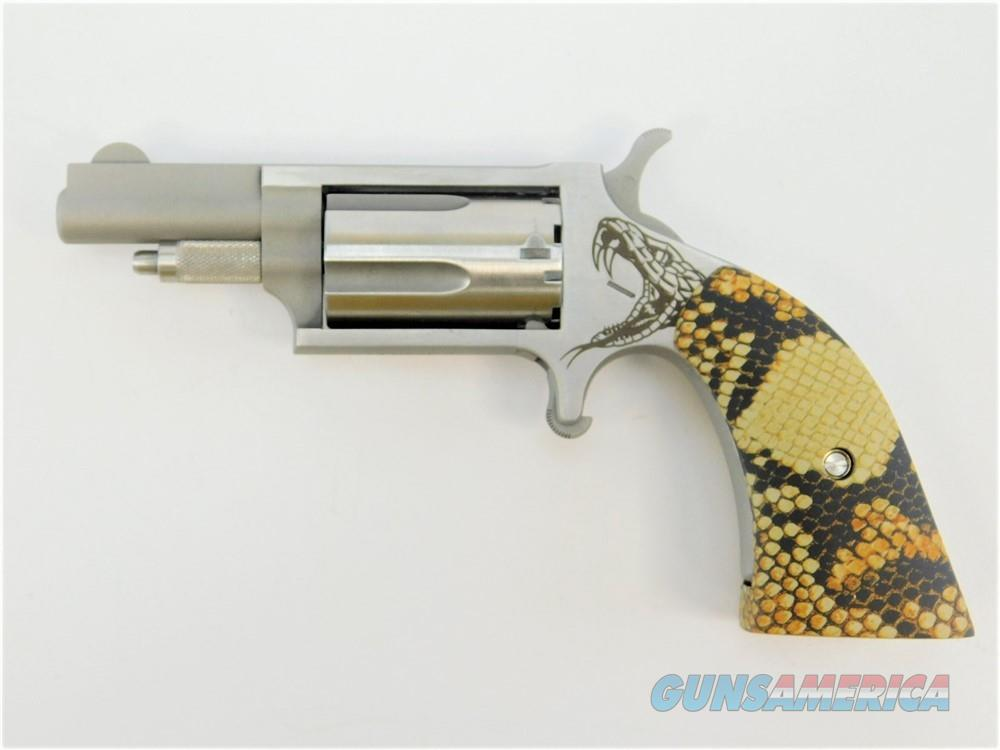 "NAA Mini Revolver .22 Mag Snake Boot Grip 1.63"" NAA-22M-GBG-SG  Guns > Pistols > North American Arms Pistols"