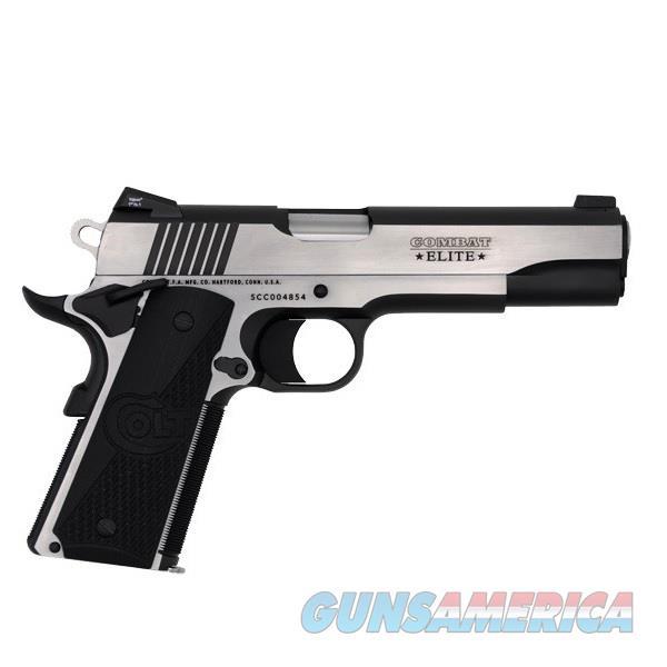 """Colt Compact Elite Government .45 ACP Two-Tone 5"""" O1070CE  Guns > Pistols > Colt Automatic Pistols (1911 & Var)"""