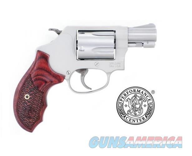 Smith & Wesson PC Model 637 Enhanced .38 S&W Special + P 170349   Guns > Pistols > Smith & Wesson Revolvers > Performance Center