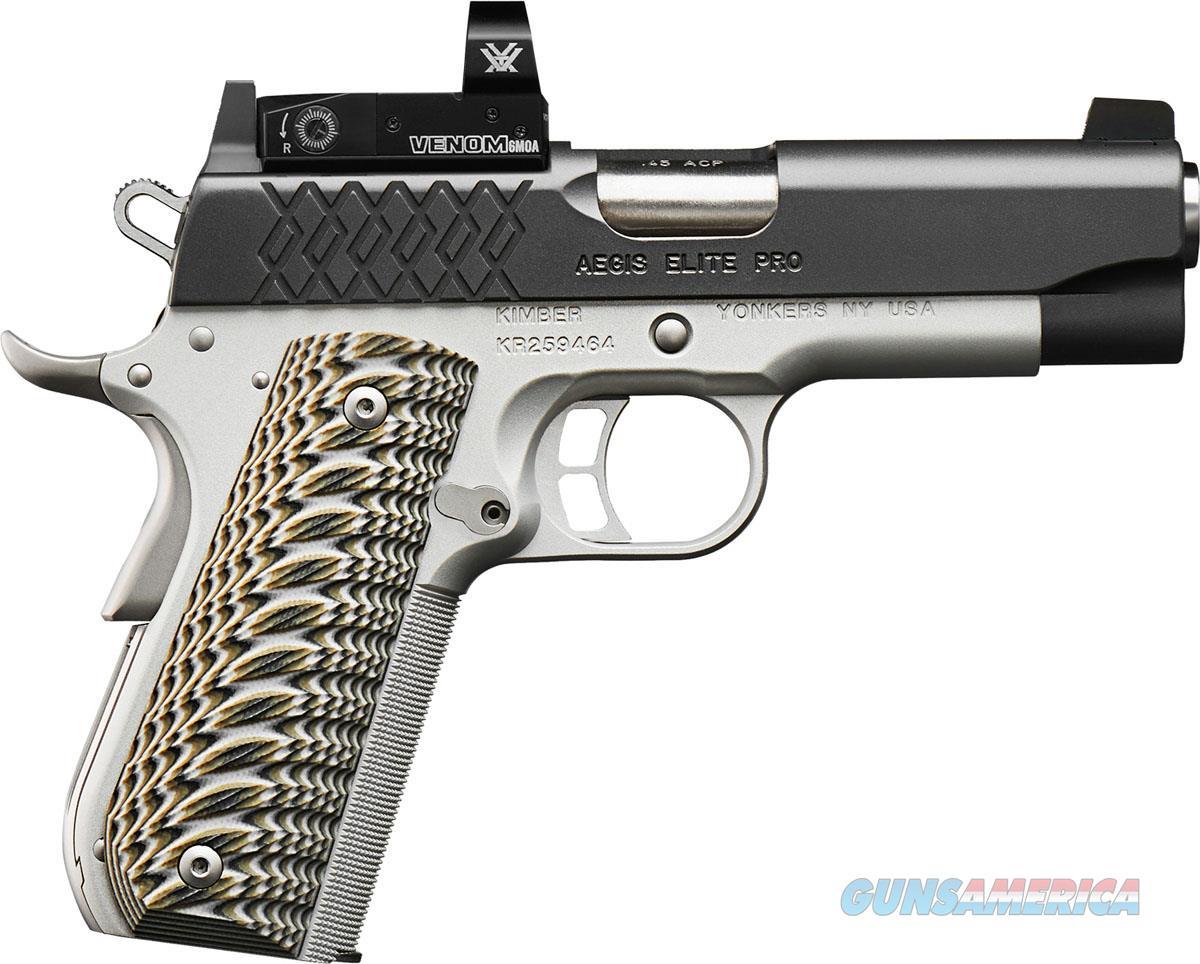 "Kimber Aegis Elite Pro 9mm 4"" Venom Optic 3000354  Guns > Pistols > Kimber of America Pistols > 1911"