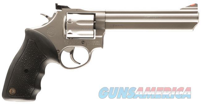 "Taurus Model 66 Stainless 6"" .357 Magnum 2-660069  Guns > Pistols > Taurus Pistols > Revolvers"
