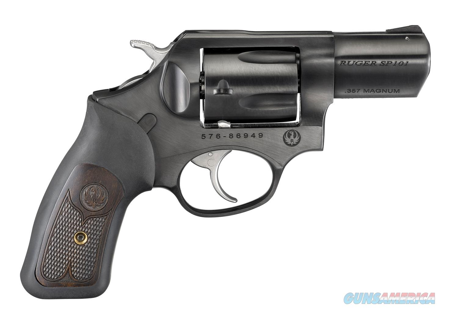 "Ruger SP101 .357 Magnum 2.25"" Blued 5 Rds 15702  Guns > Pistols > Ruger Double Action Revolver > SP101 Type"