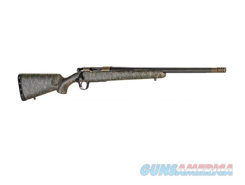 """Christensen Arms Ridgeline 6.5 Creedmoor 24"""" Green/Burnt Bronze 801-06020-00  Guns > Rifles > Custom Rifles > Bolt Action"""