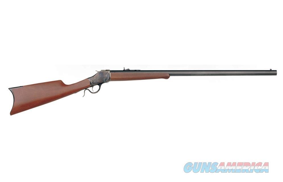 "Uberti 1885 High-Wall Sporting Rifle Straight Stock .45-70 Govt 32"" Octagon SKU: 348910  Guns > Rifles > Uberti Rifles > Single Shot"