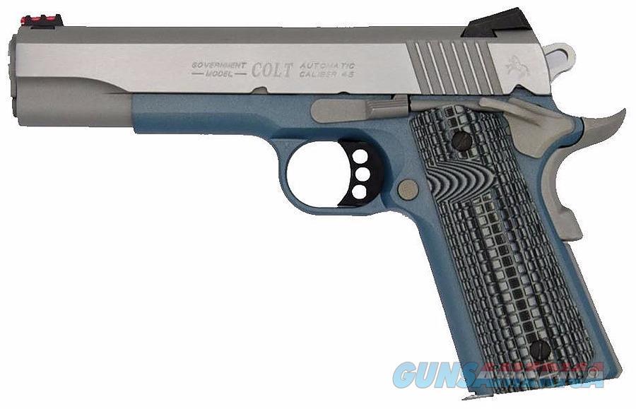 """Colt 1911 Competition .45 ACP 5"""" Blue Titanium 8Rds O1070CCS-BT   Guns > Pistols > Colt Automatic Pistols (1911 & Var)"""