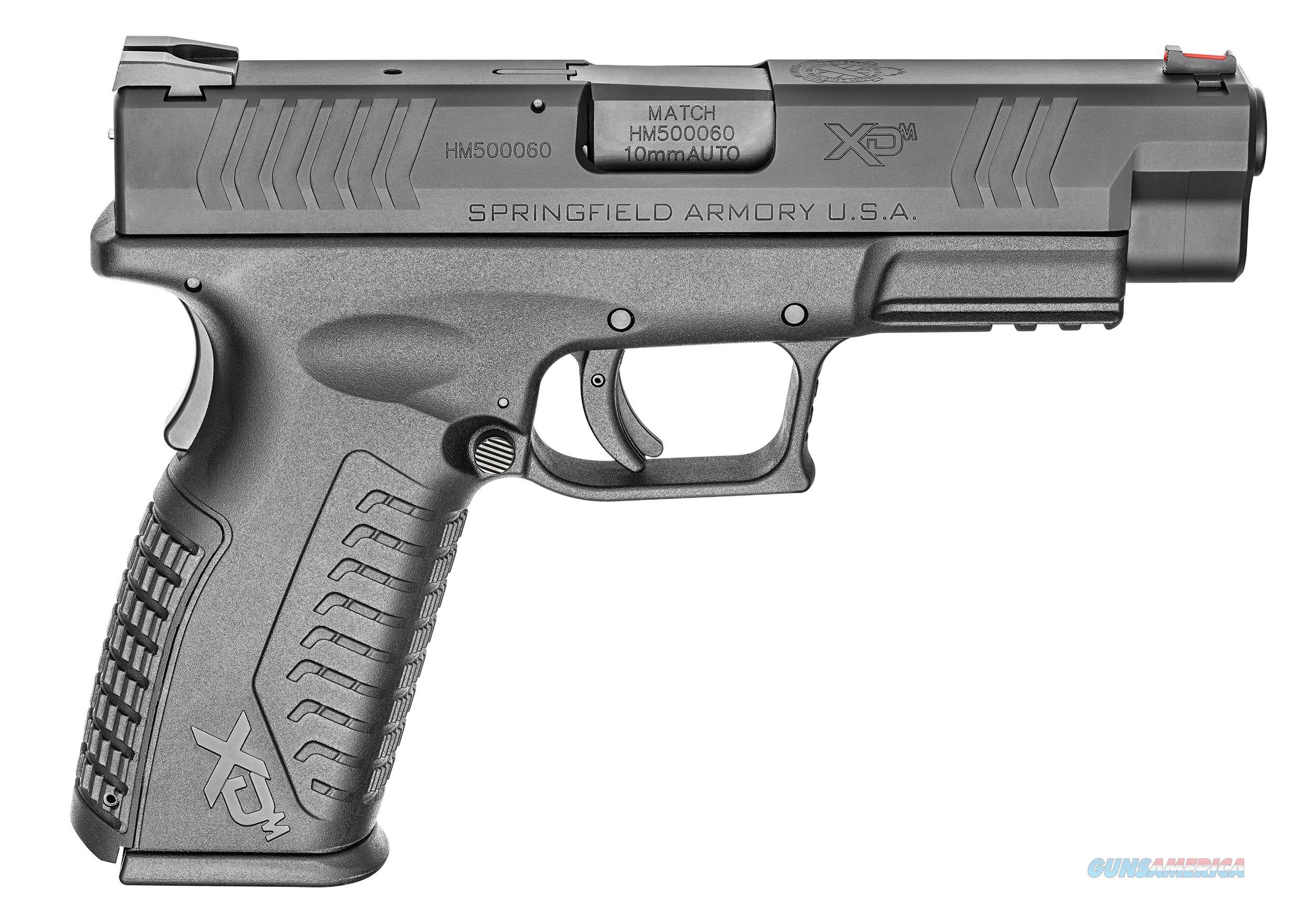 "Springfield XDM 10mm 4.5"" 15 Rds XDM94510BHCE   Guns > Pistols > Springfield Armory Pistols > XD-M"