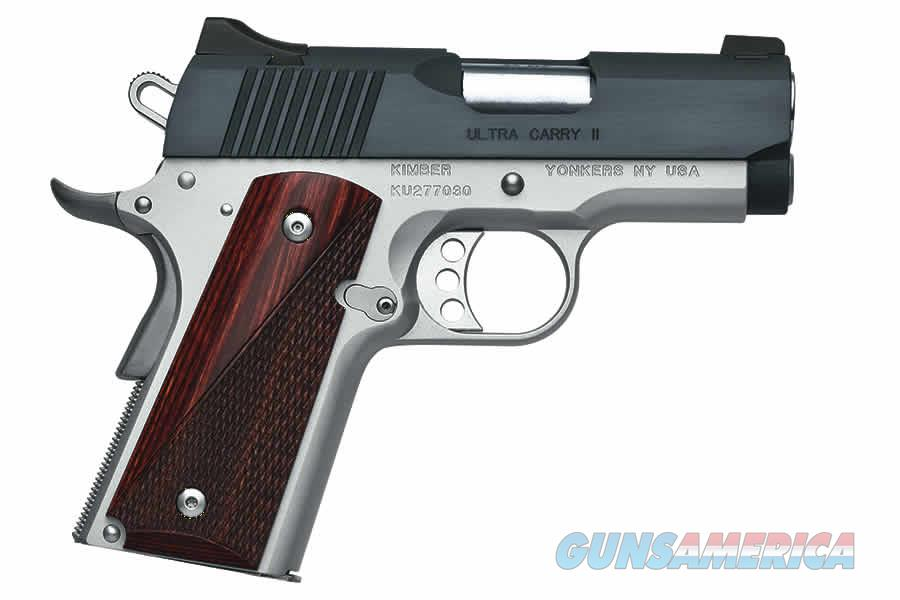 "Kimber Ultra Carry II 9mm Two-Tone 3"" 1911 3200332  Guns > Pistols > Kimber of America Pistols"