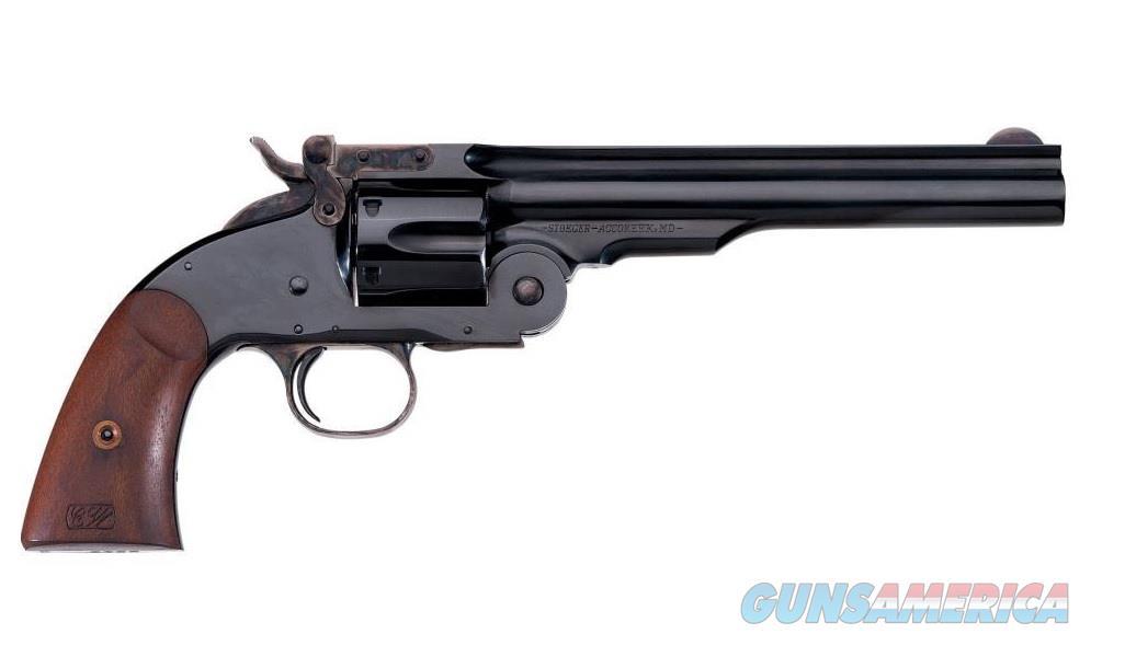 "Uberti 1875 No. 3 Top Break 2nd Model .45 Colt 7"" 348500   Guns > Pistols > Uberti Pistols > Percussion"