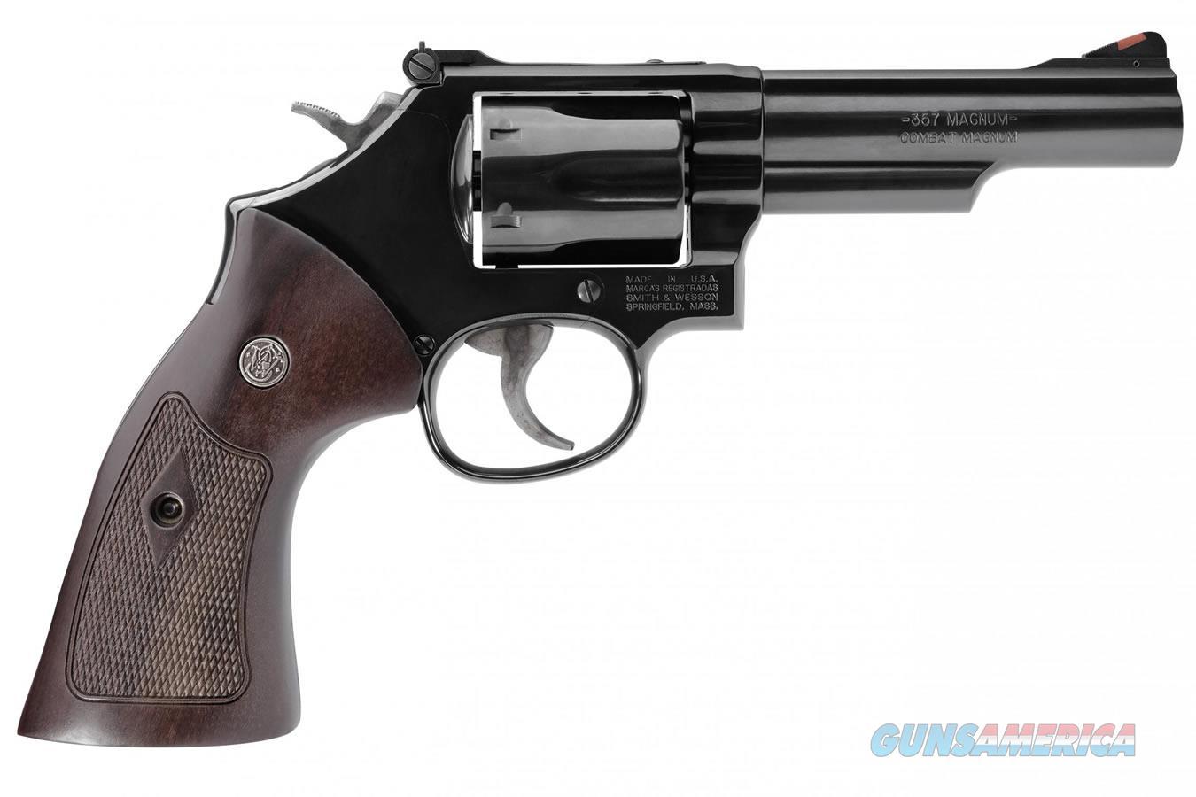 "Smith & Wesson Model 19 Classic .357 Mag/.38 Spl 4.25"" Blued 12040   Guns > Pistols > Smith & Wesson Revolvers > Med. Frame ( K/L )"