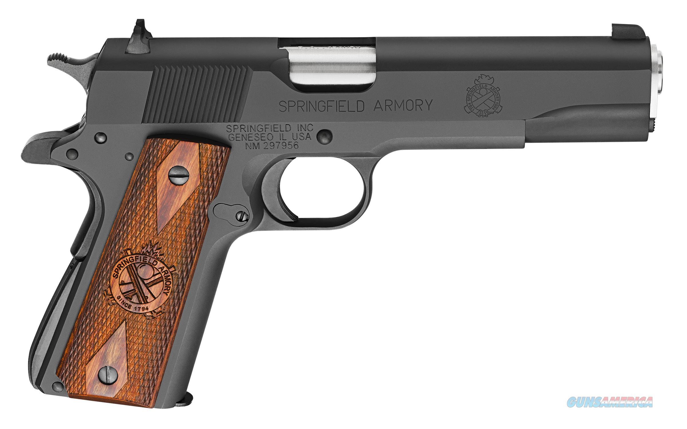 "Springfield Armory 1911 Mil-Spec Parkerized .45 ACP 5"" 7 Rds PB9108L   Guns > Pistols > Springfield Armory Pistols > 1911 Type"