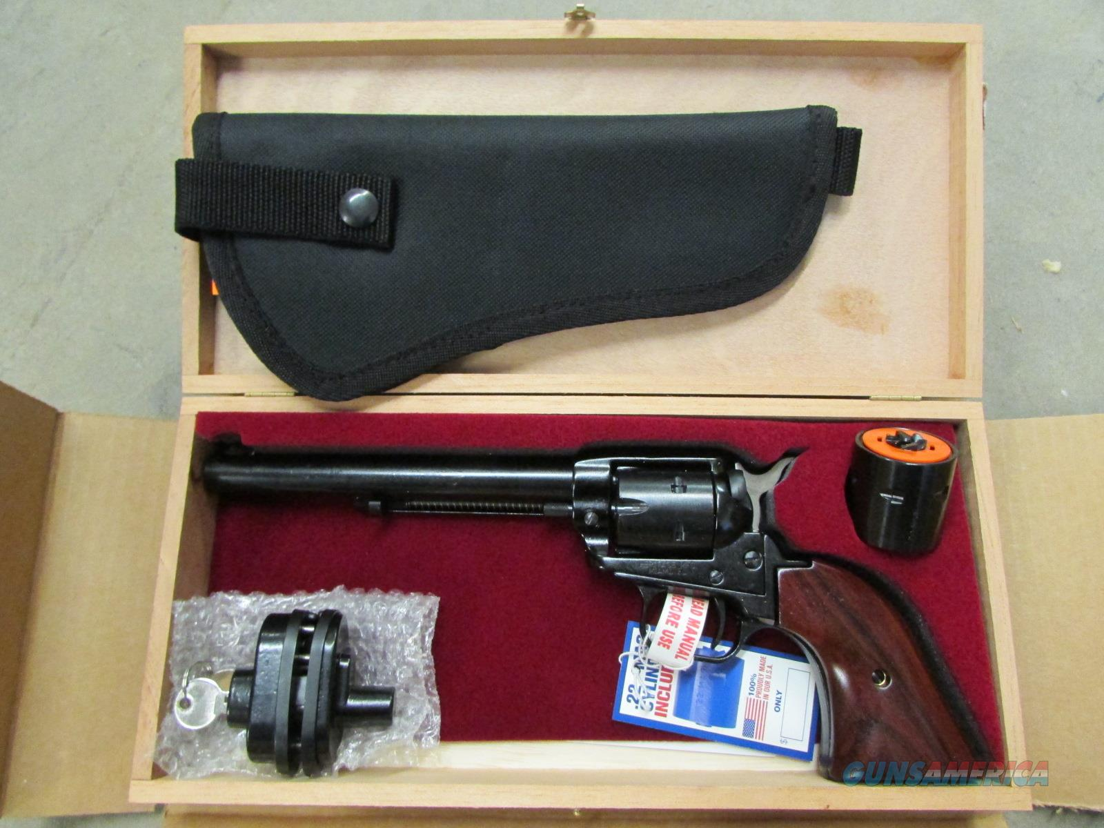 HERITAGE ROUGH RIDER COMBO .22 LR & .22 MAG w/CASE  Guns > Pistols > Heritage