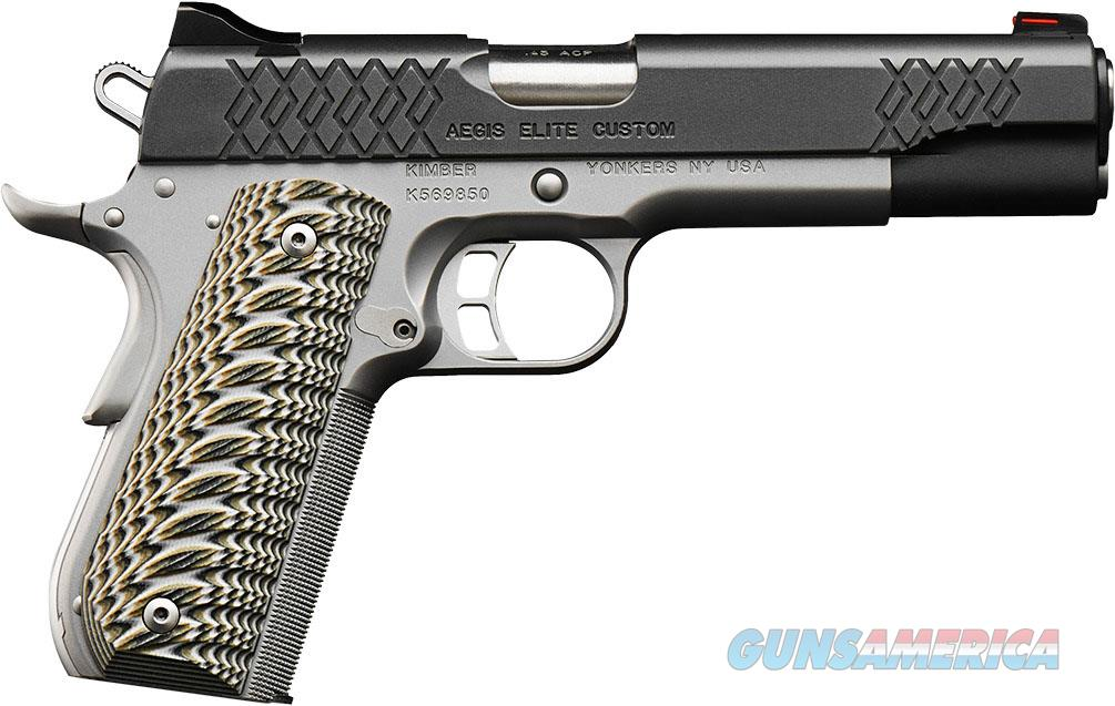 "Kimber Aegis Elite Custom 9mm 5"" Fiber Optics 9 Rds 3000350  Guns > Pistols > Kimber of America Pistols > 1911"