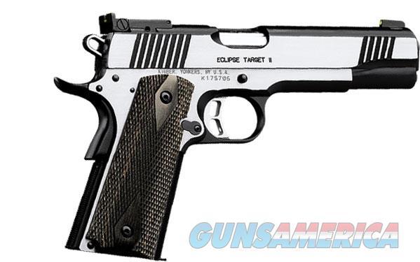 "Kimber Eclipse Target II .38 Super 8 Rds 5"" 3200297  Guns > Pistols > Kimber of America Pistols"