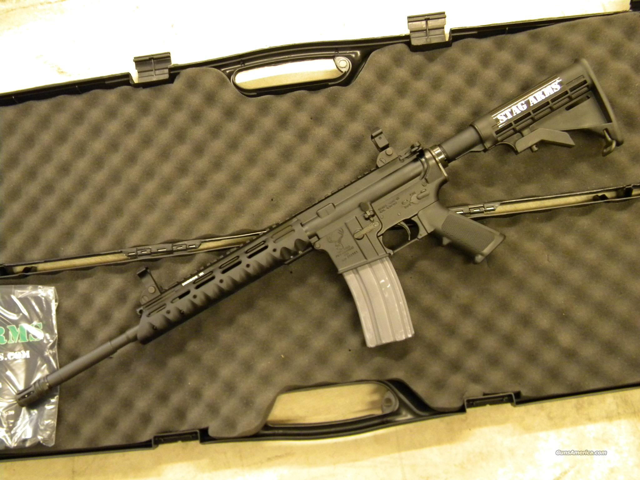 Stag Model 8T Piston Operated AR-15 5.56/.223  Guns > Rifles > Stag Arms > Complete Rifles