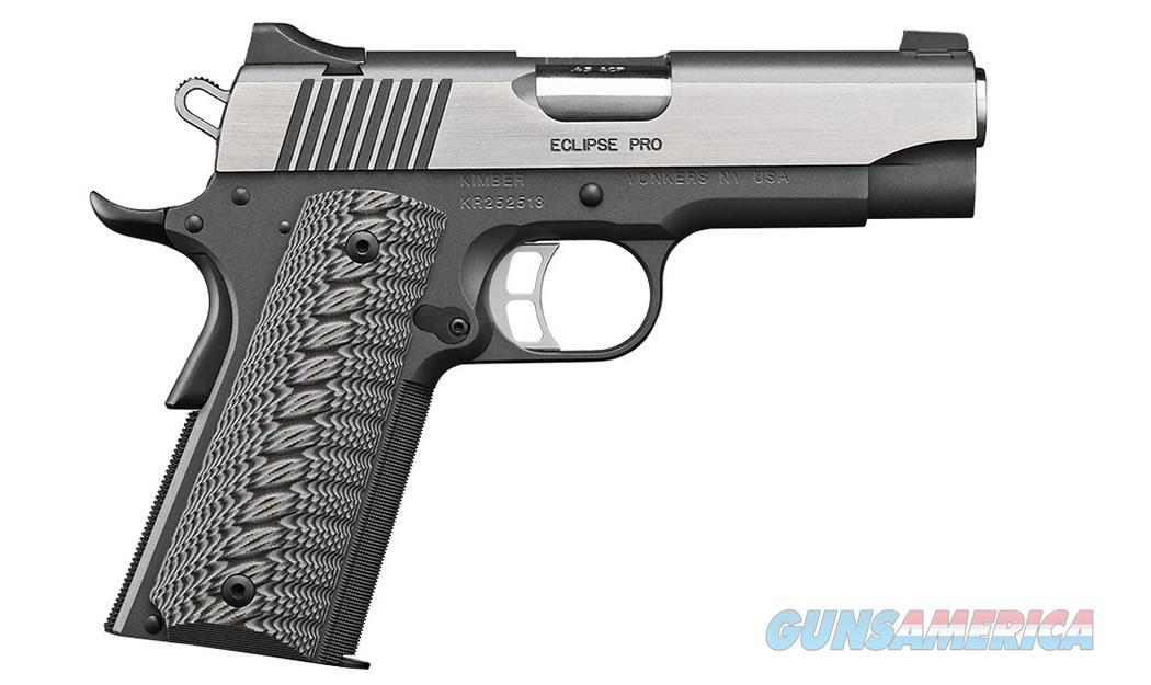 "Kimber Eclipse Pro .45 ACP 4"" NS 8 Rds 3000240   Guns > Pistols > Kimber of America Pistols > 1911"