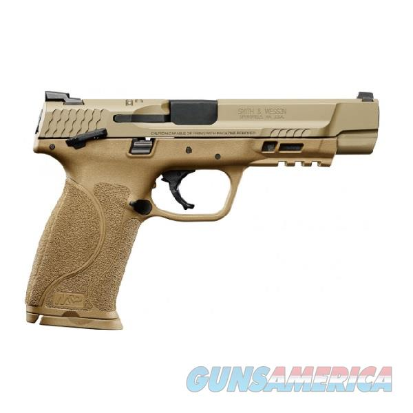 "SMITH & WESSON S&W M&P9 2.0 FDE 5"" 9mm LUGER SKU: 11537   Guns > Pistols > Smith & Wesson Pistols - Autos > Polymer Frame"