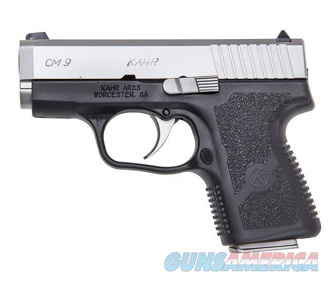 """Kahr Arms CM9 3"""" 9mm 6 Rds Black/Stainless CM9093   Guns > Pistols > Kahr Pistols"""