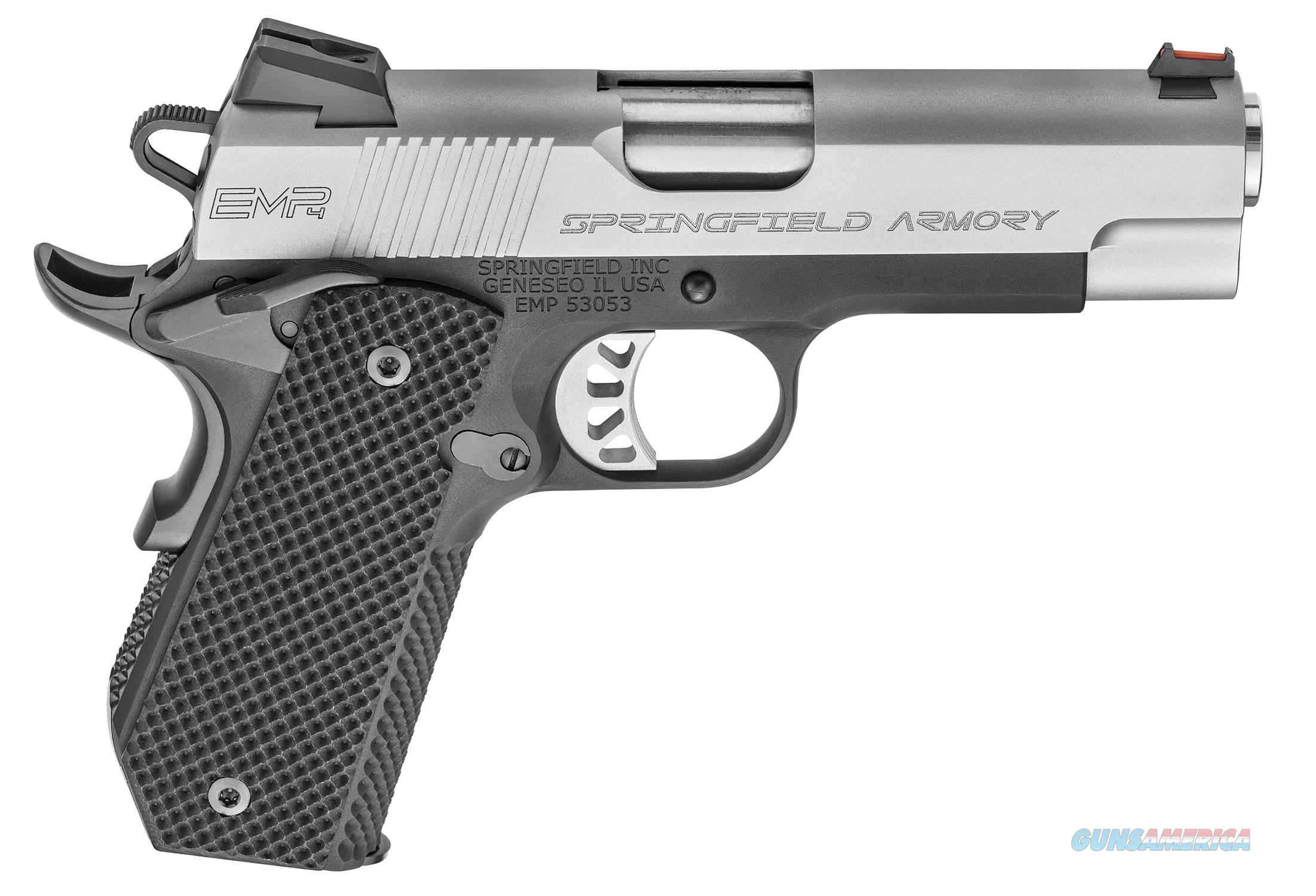 "SPRINGFIELD 1911 EMP CONCEAL CARRY CONTOUR 4"" 9mm PI9229L  Guns > Pistols > Springfield Armory Pistols > 1911 Type"