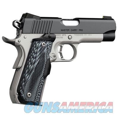 "Kimber Master Carry Pro 1911 Crimson Trace Laser Grips .45 ACP 4"" 3000283  Guns > Pistols > Kimber of America Pistols"