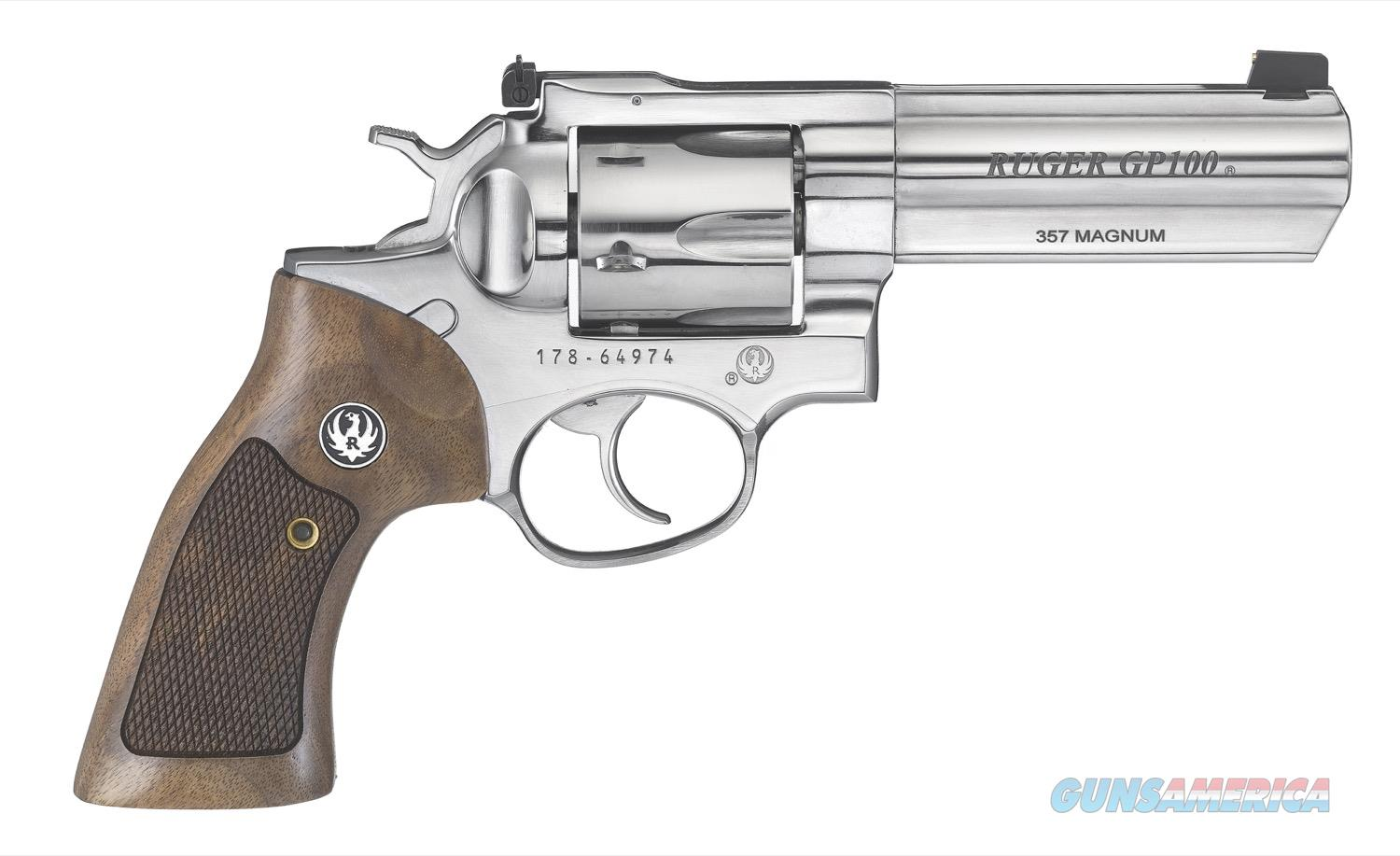 """Ruger GP100 .357 Magnum TALO 4.2"""" Stainless 1777  Guns > Pistols > Ruger Double Action Revolver > GP100"""