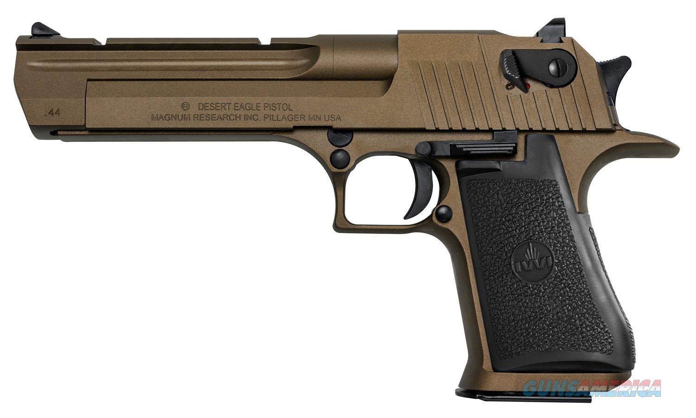 "Magnum Research Desert Eagle .44 Mag 6"" Burnt Bronze CA APPROVED DE44CABB   Guns > Pistols > Magnum Research Pistols"