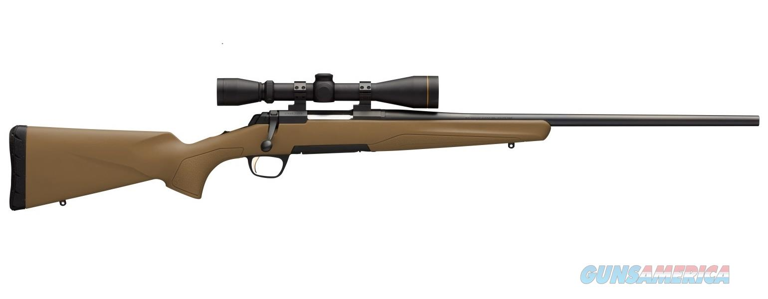 "Browning X-Bolt FDE Combo 6.5 Creedmore w/Scope 22"" 035430282   Guns > Rifles > Browning Rifles > Bolt Action > Hunting > Blue"