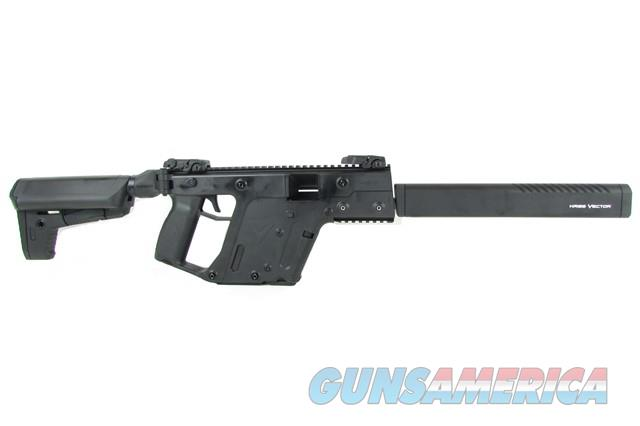 "Kriss Vector CRB Gen II Black 10mm 16"" KV10-CBL20  Guns > Rifles > Kriss Tactical Rifles"