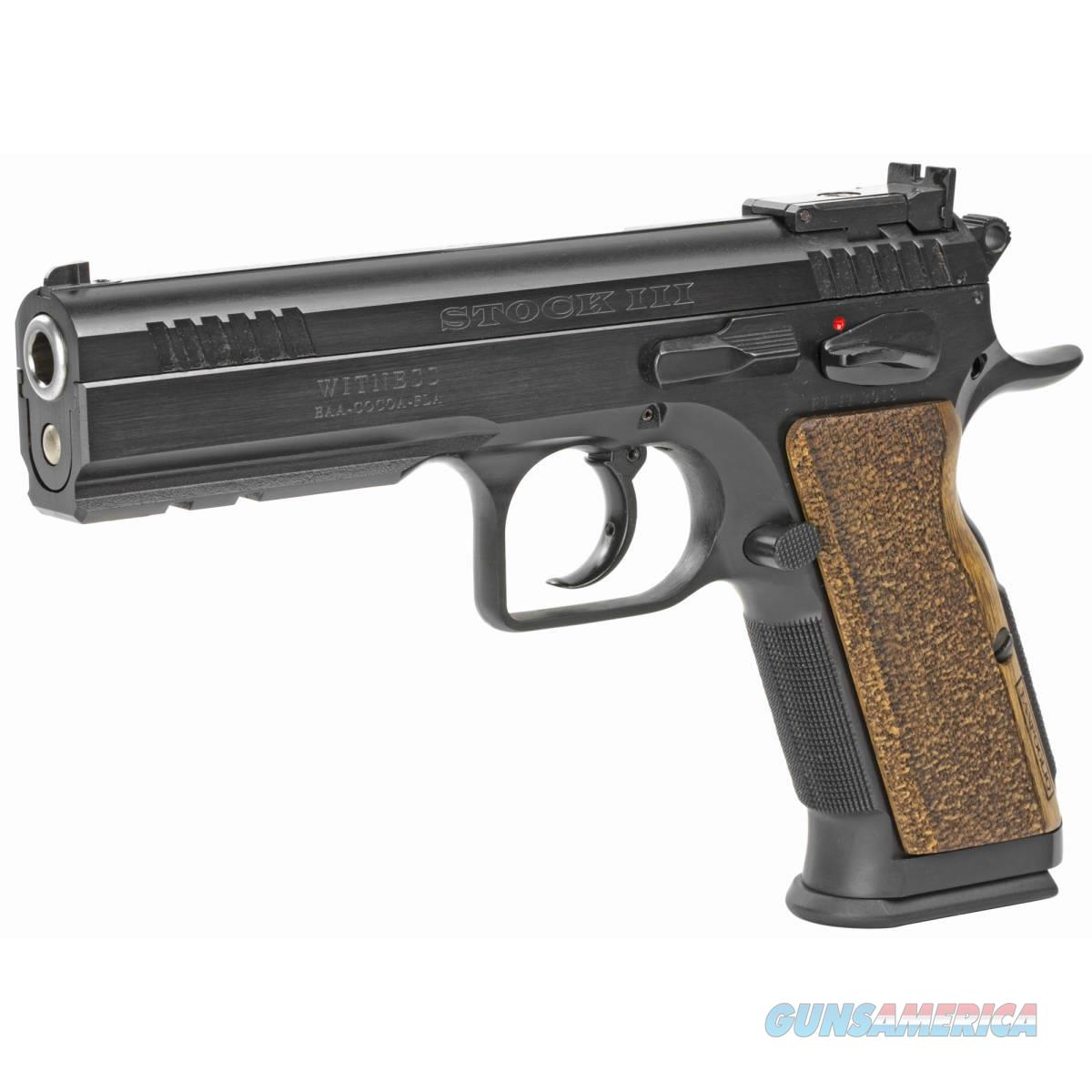"EAA Corp. Tanfoglio Witness Elite Stock III 9mm 4.75"" 600595  Guns > Pistols > EAA Pistols > Other"