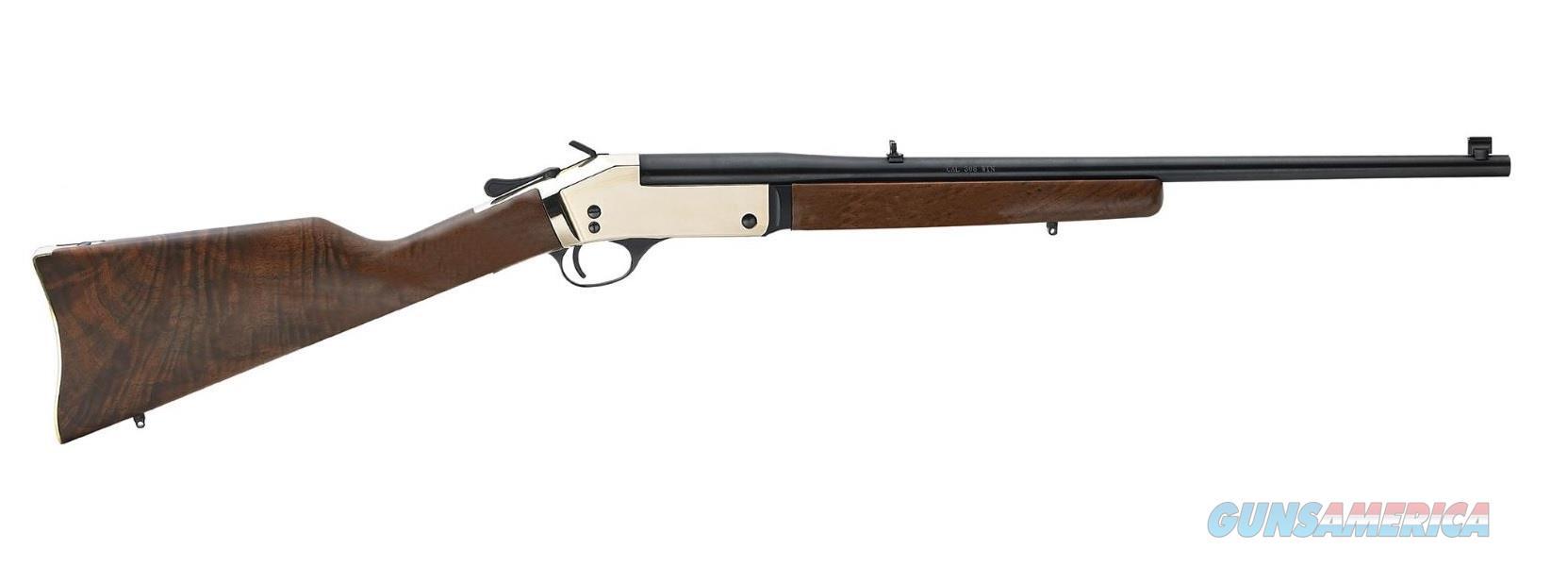 "Henry Brass Single Shot Rifle .44 Magnum/.44 Special 22"" H015B-44  Guns > Rifles > Henry Rifle Company"