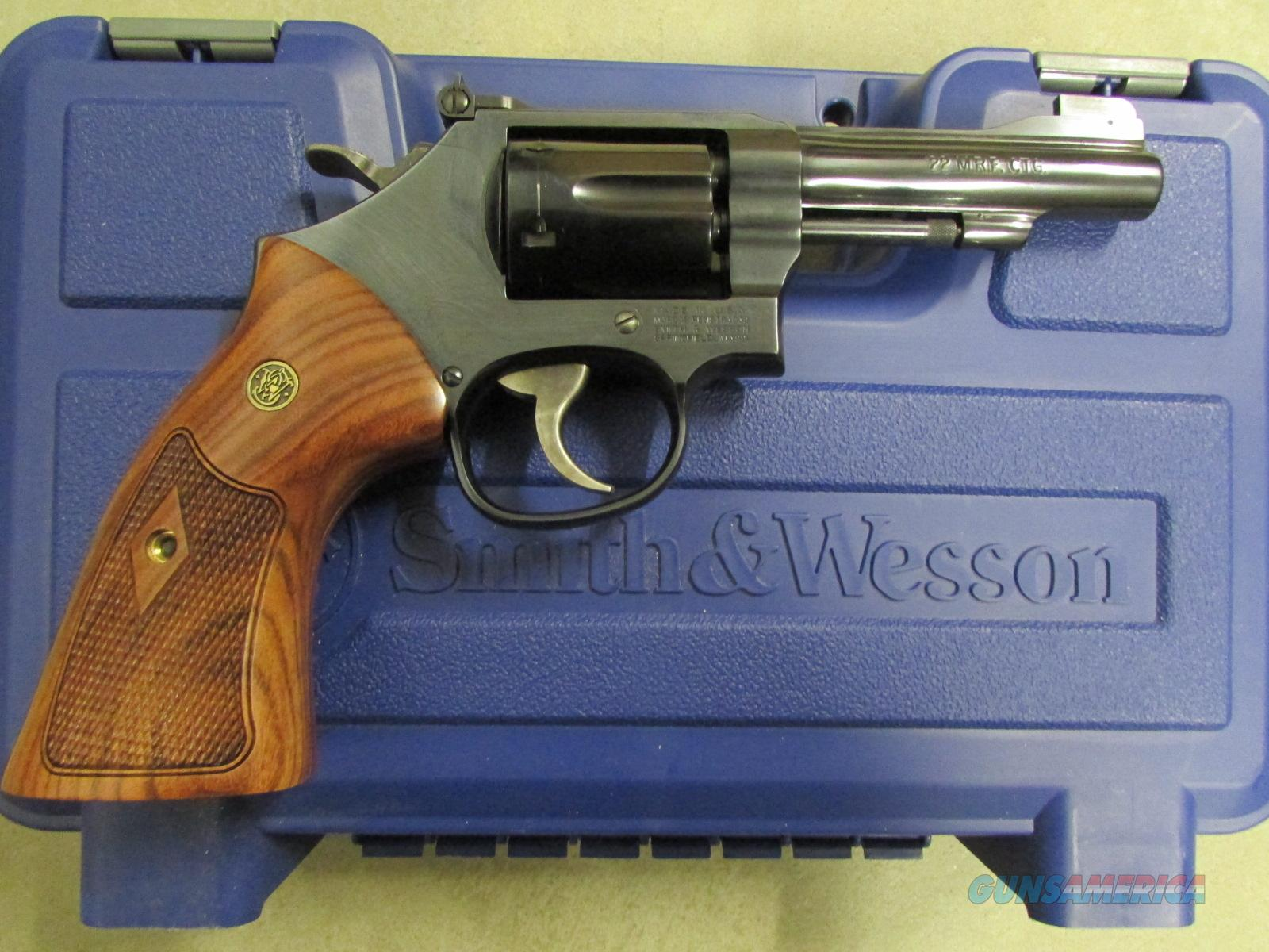 "Smith & Wesson Model 48 .22 Magnum 4"" 150717  Guns > Pistols > Smith & Wesson Revolvers > Full Frame Revolver"