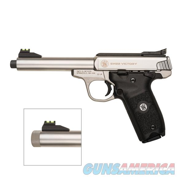"Smith & Wesson SW22 Victory .22 LR 5.5"" Threaded 10201  Guns > Pistols > Smith & Wesson Pistols - Autos > .22 Autos"