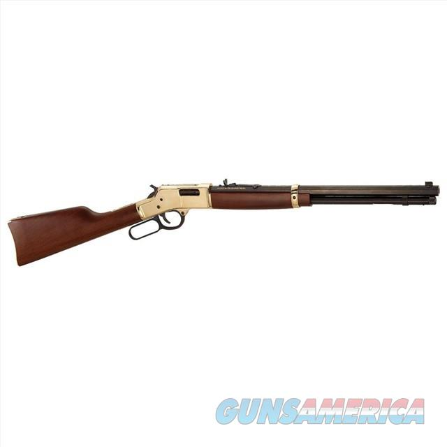 HENRY BIG BOY BRASS LEVER-ACTION .45 COLT H006C  Guns > Rifles > Henry Rifle Company