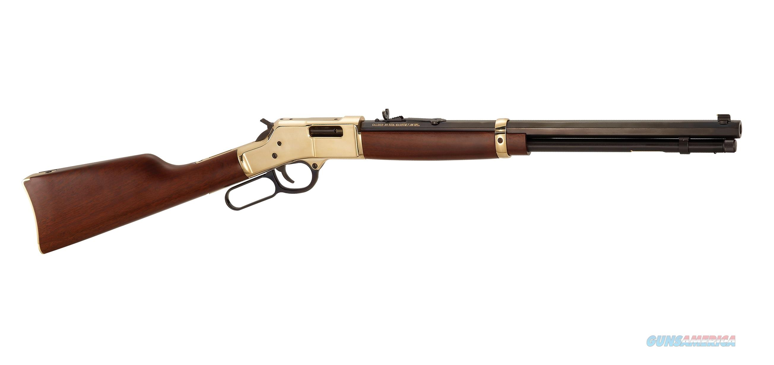 HENRY BIG BOY BRASS LEVER-ACTION .44 MAGNUM H006  Guns > Rifles > Henry Rifle Company