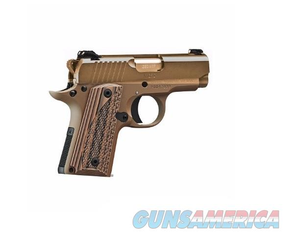 Kimber Micro 380 ACP FDE Night Sights 3300164 Built Exclusively For Elk County Ammo & Arms!  Guns > Pistols > Kimber of America Pistols > Micro