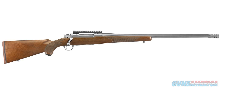 "Ruger Hawkeye Hunter .300 Win Walnut 24"" SS 57109  Guns > Rifles > Ruger Rifles > Model 77"