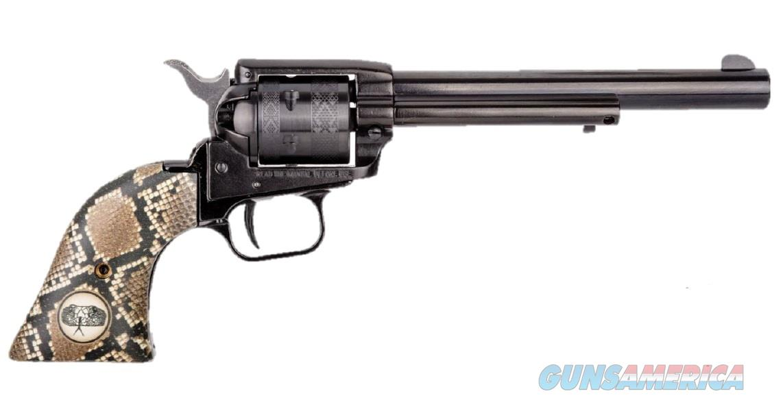 "Heritage Rough Rider Snake .22 LR 6.5"" Blued TALO RR22B6-SNK  Guns > Pistols > Heritage"