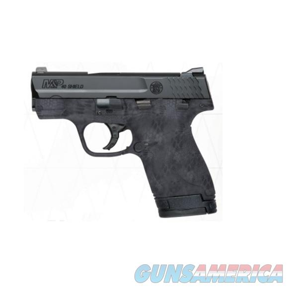 Smith & Wesson M&P Shield Kryptek Typhon .40 S&W 10171  Guns > Pistols > Smith & Wesson Pistols - Autos > Polymer Frame