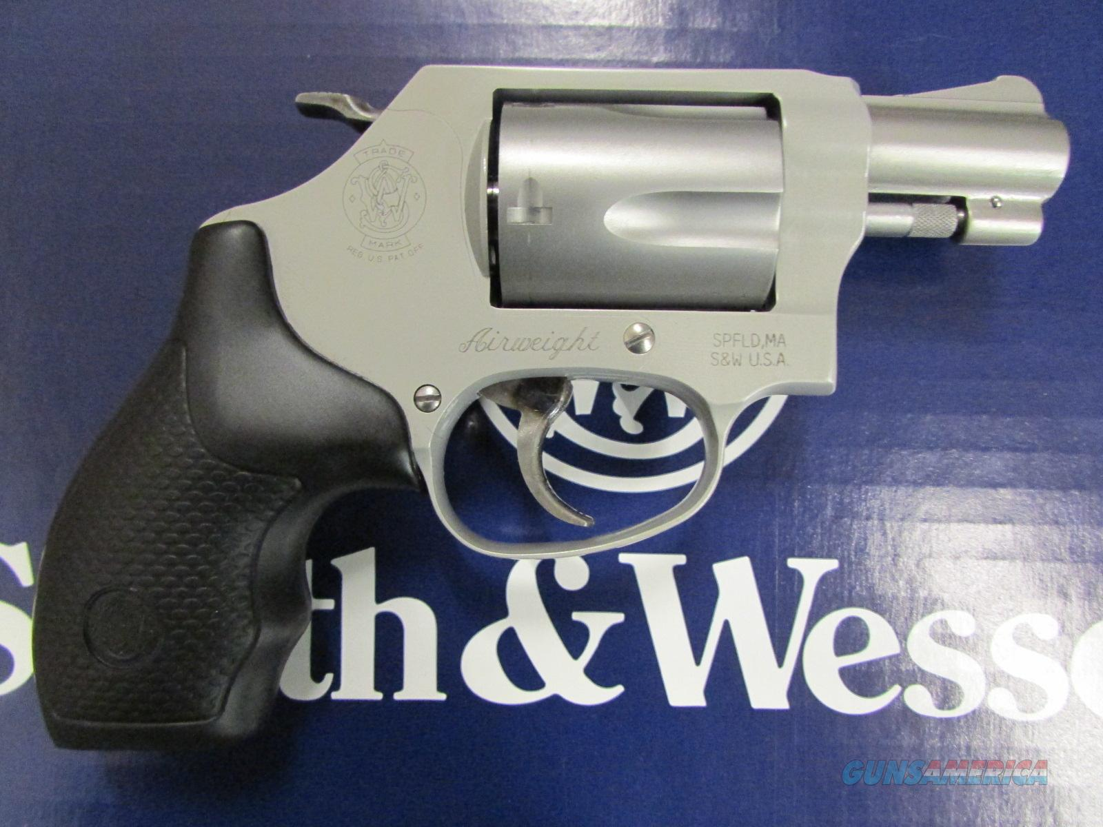 Smith & Wesson Model 637 AirWeight with Hammer .38 Special 163050  Guns > Pistols > Smith & Wesson Revolvers > Full Frame Revolver