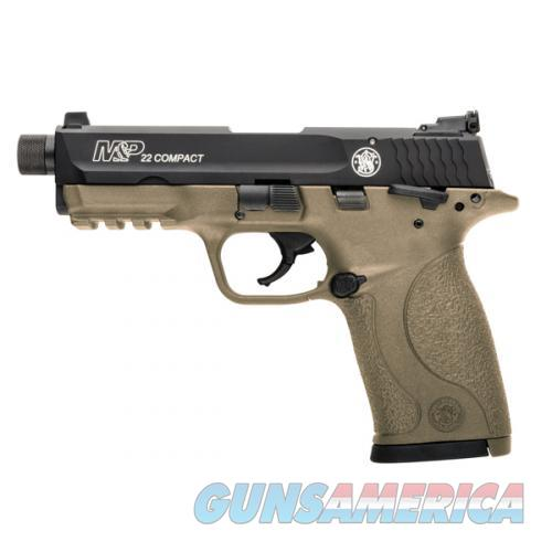 Smith & Wesson M&P22 Compact Cerakote .22LR FDE 10242   Guns > Pistols > Smith & Wesson Pistols - Autos > Polymer Frame