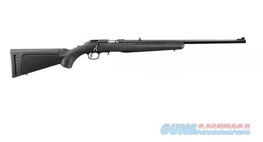 Ruger American Rimfire Rifle .22 LR with Red Fiber Optic 8302  Guns > Rifles > Ruger Rifles > American Rifle