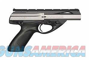 """Beretta U22 Neos Inox .22 LR 4.5"""" Black/SS JU2S45X   Guns > Pistols > Beretta Pistols > Polymer Frame"""