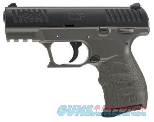 "Walther CCP 9mm Luger Tungsten Grey/Black 3.54"" 8 Rds 5080305   Guns > Pistols > Taurus Pistols > Semi Auto Pistols > Polymer Frame"