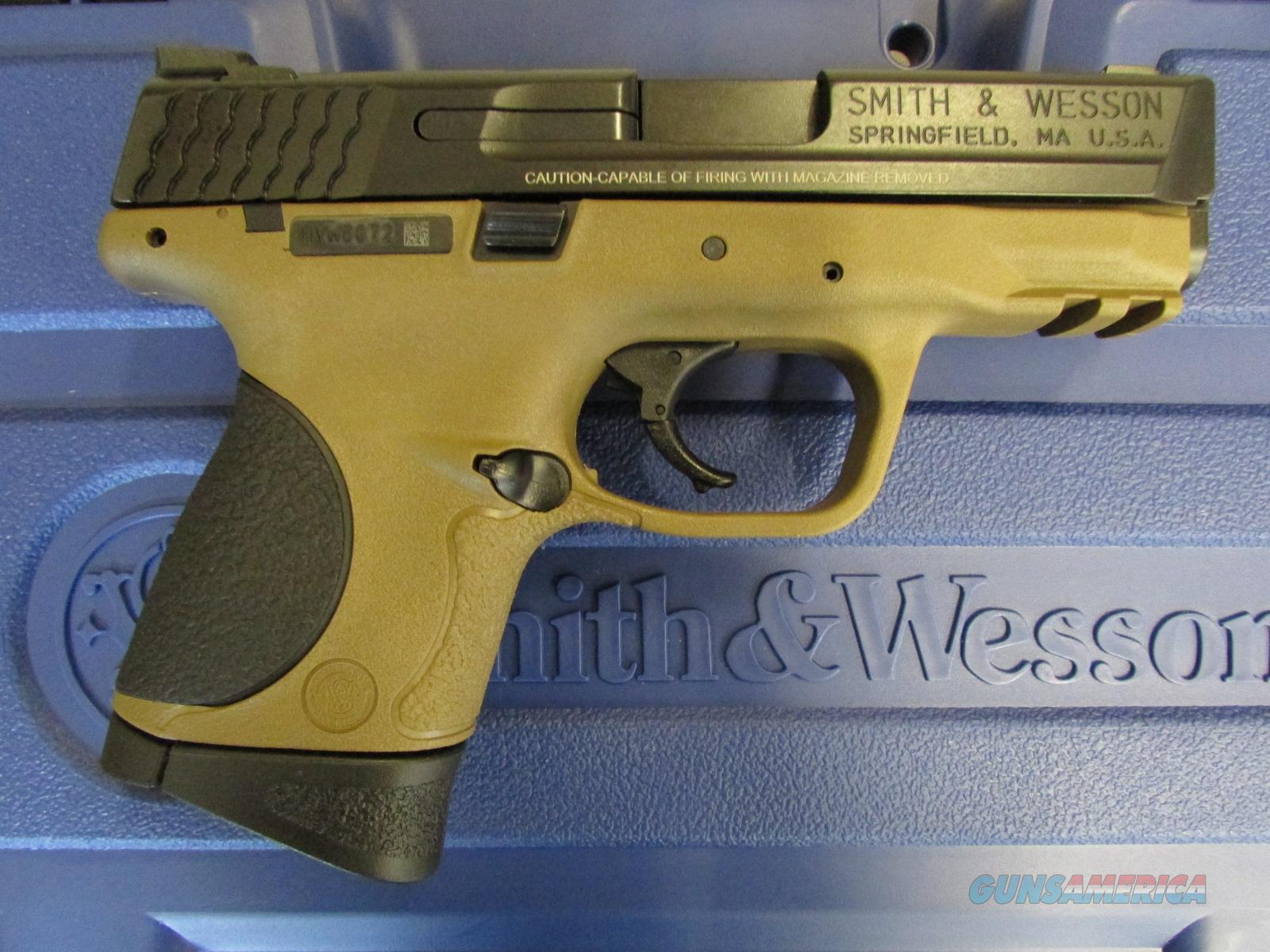 Smith & Wesson M&P40c Compact Flat Dark Earth .40 S&W 10190  Guns > Pistols > Smith & Wesson Pistols - Autos > Polymer Frame