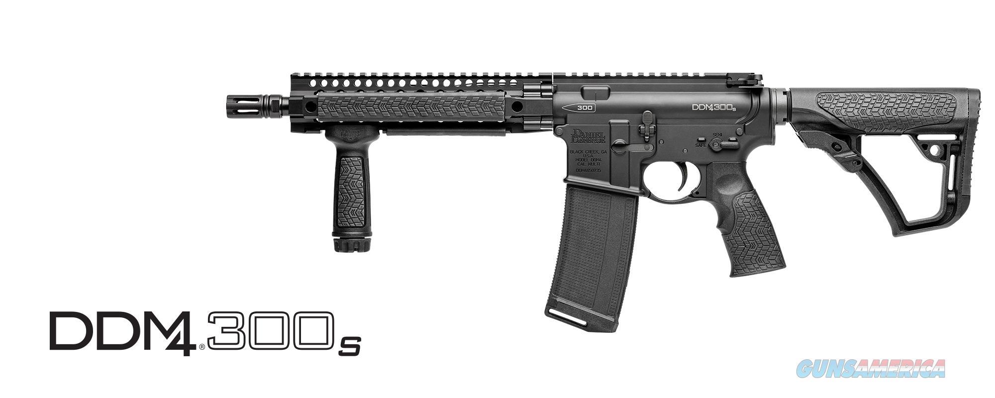 Daniel Defense DDM4 300S 300 BLK 02-122-17026-047   Guns > Rifles > Class 3 Rifles > Class 3 Subguns