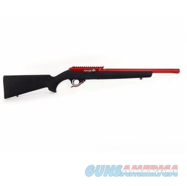 Tactical Solutions X-Ring .22 LR 10/22 RED Barrel BLACK Hogue TE-RD-B-H-BLK   Guns > Rifles > Ruger Rifles > 10-22