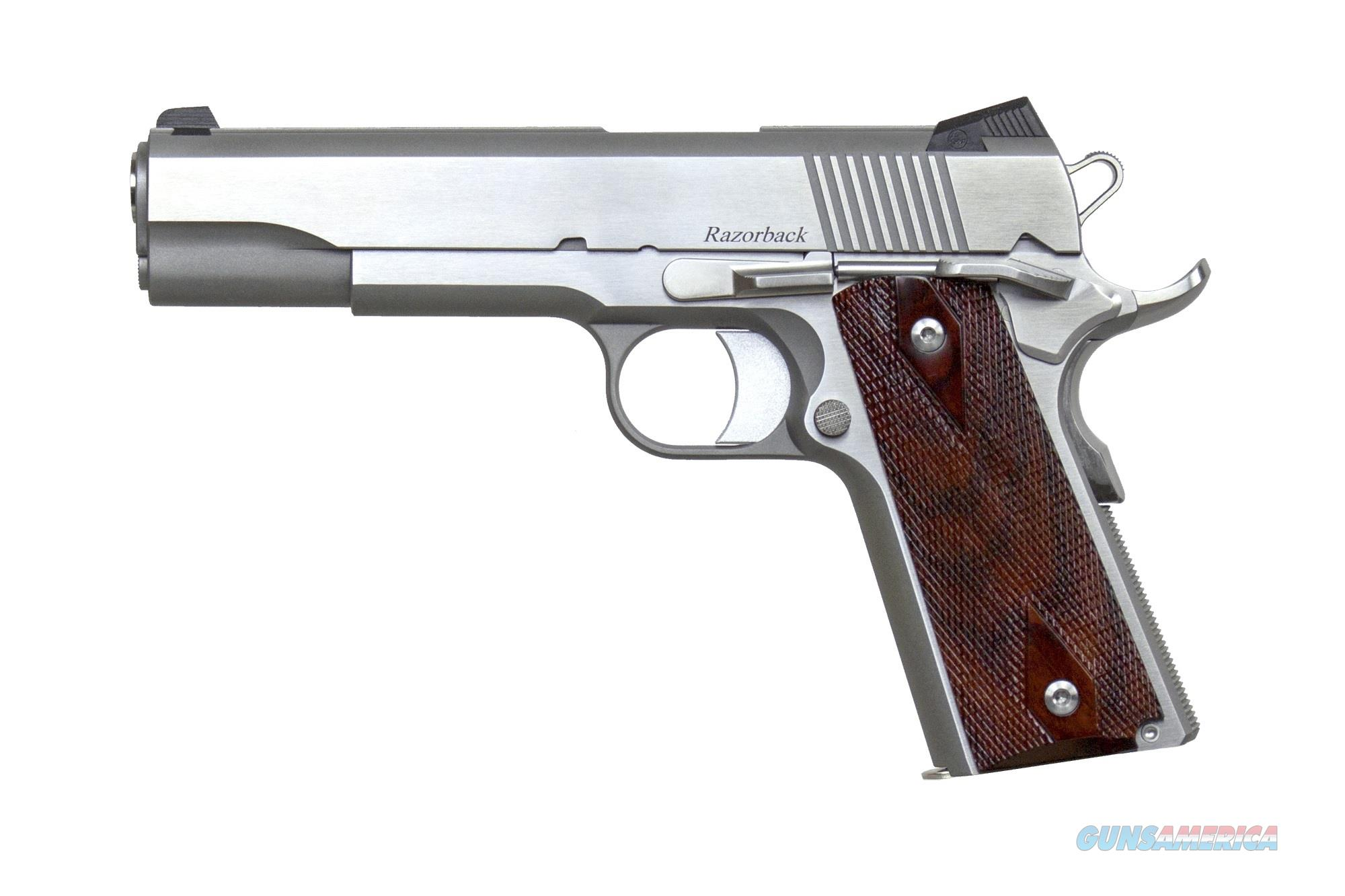 "CZ-USA Dan Wesson Razorback RZ-10 Stainless 10mm 5"" 01907   Guns > Pistols > Dan Wesson Pistols/Revolvers > 1911 Style"